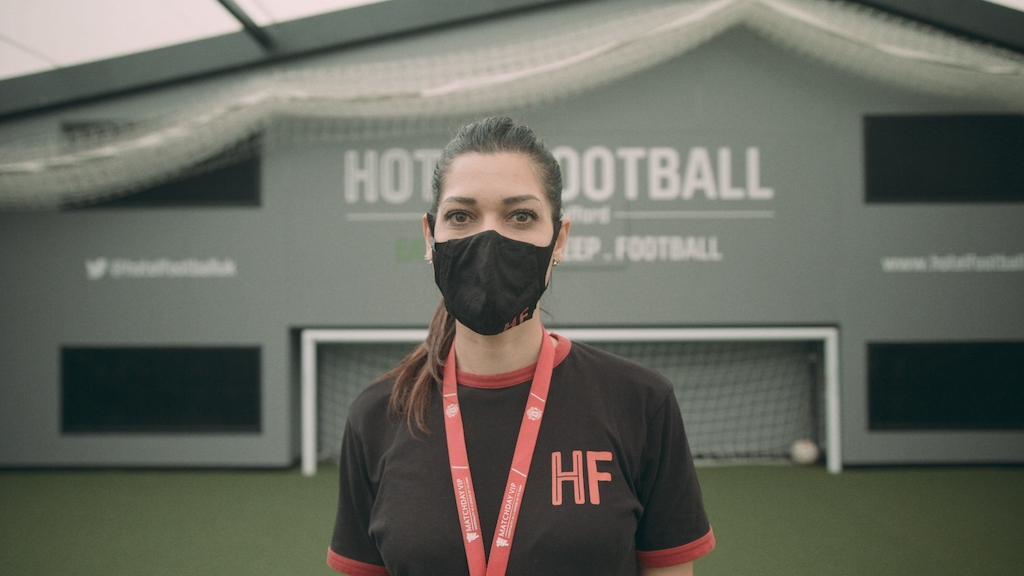 Eat. Meet. Sleep. With Confidence at Hotel Football